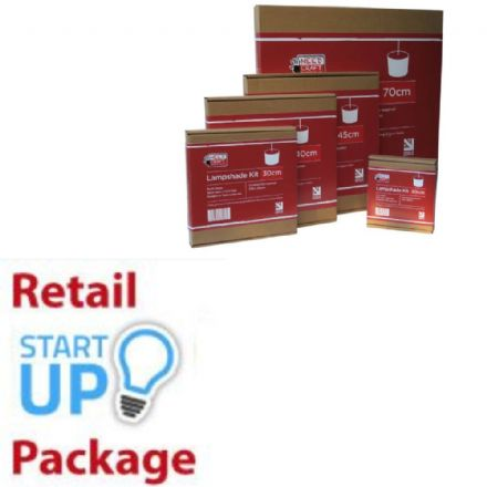 Retailers' Start Up Package - Lampshade Kits -